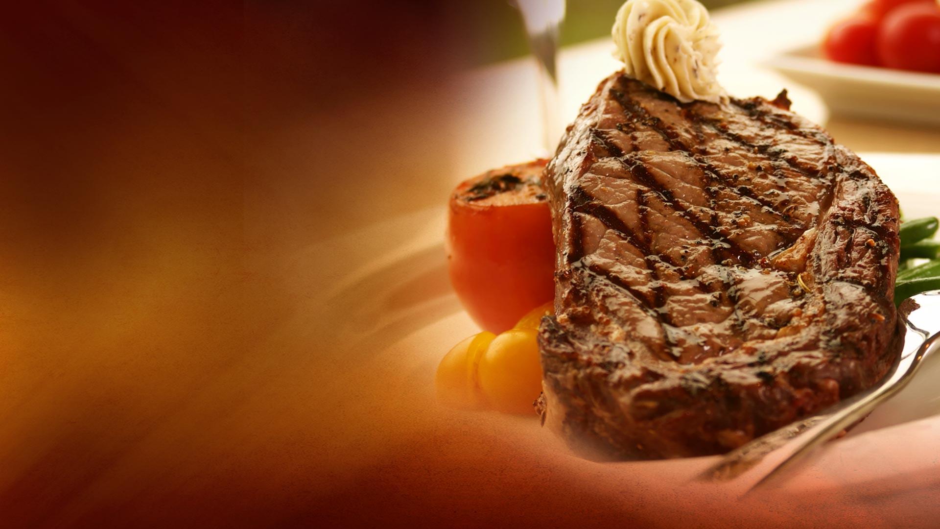 Plate of filet mignon